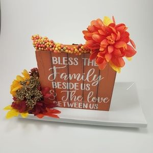 Other - HRVEST HOME DECOR SIGN